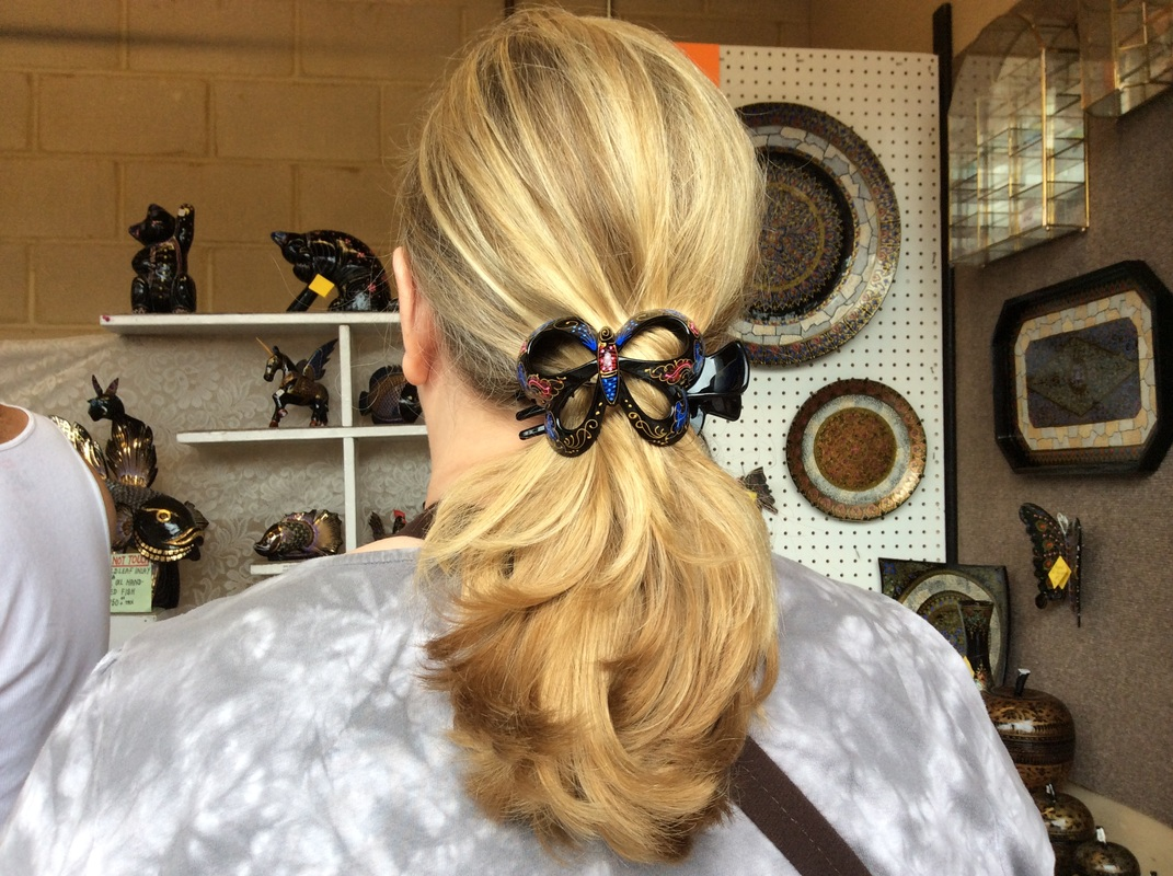 Large Hair Clips Menu